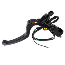 "Load image into Gallery viewer, Motorcycle Cable Clutch Lever Perch Brake Lever 7/8"" 22mm"