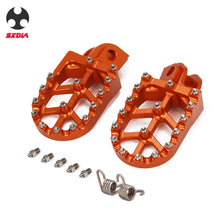 Load image into Gallery viewer, Motorcycle Foot Pegs / Foot Rests For KTM