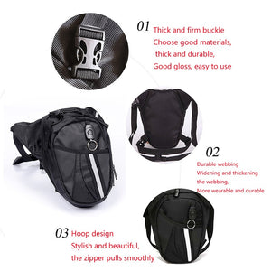 Motorcycle drop leg bag Waterproof Nylon