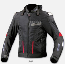 Load image into Gallery viewer, Motorcycle men protection jacket jk015 ferroalloy protective equipment summer jacket