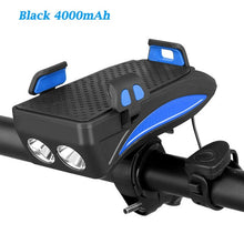 Load image into Gallery viewer, Multi-functional Front Bicycle Lamp USB Bike Light Built-in 2000 mAh /4000 mAh