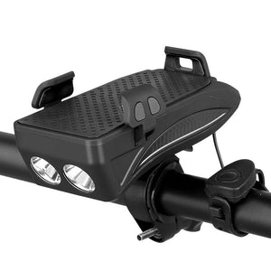 Multi-functional Front Bicycle Lamp USB Bike Light Built-in 2000 mAh /4000 mAh