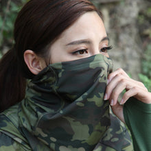 Load image into Gallery viewer, Multicam Camouflage Tactical Neck Gaiter Tube Face Cycling