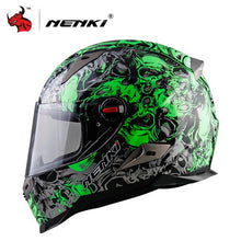 Load image into Gallery viewer, NENKI Motorcycle  Motorbike Full Face Helmet