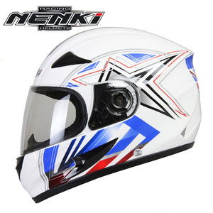 NENKI Motorcycle Helmet Moto Motocross Helmet Motorcycle Full Face