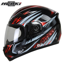 Load image into Gallery viewer, NENKI Motorcycle Helmet Moto Motocross Helmet Motorcycle Full Face