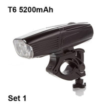 Load image into Gallery viewer, NEWBOLER 5200 mAh Bicycle Light Front and Rear Set