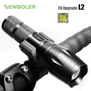 NEWBOLER Bicycle Light 5 Mode XM-L2 LEDront Torch