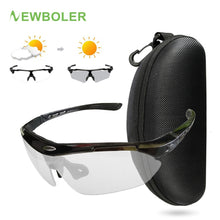 Load image into Gallery viewer, NEWBOLER Sport Photochromic Glasses UV Protection Cycling Eyewear