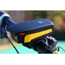 Load image into Gallery viewer, NEWBOLWE With Horn Bike Front Light USB 400 Lumen Cycling Headlight