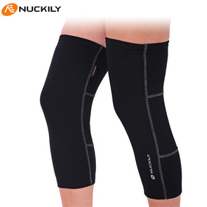 NUCKILY Road Cycling Leg Sleeve Knee Warmer Bicycle Cycling Leg Warmers