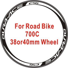 Load image into Gallery viewer, Wheel Stickers Bicycle Wheel Rim Racing Stickers Bike Decals Wheel Stickers