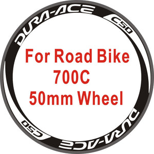 Wheel Stickers Bicycle Wheel Rim Racing Stickers Bike Decals Wheel Stickers