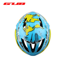 Load image into Gallery viewer, New GUB Map World Map MTB Road Helmet Bicycle Racing/Cycling EPU