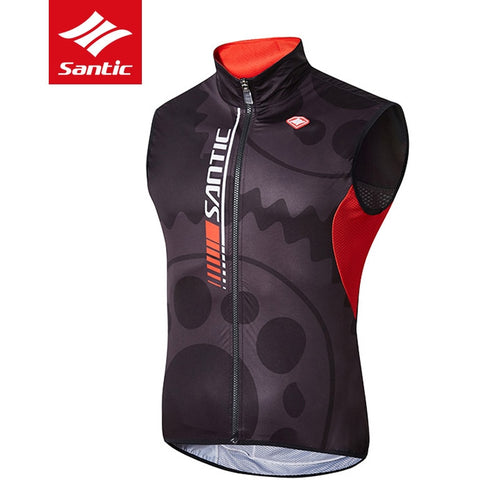Santic Mens Breathable Cycling Vest