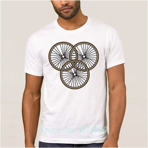 My Own Cyclings Bikings Fitted Men's T Shirts