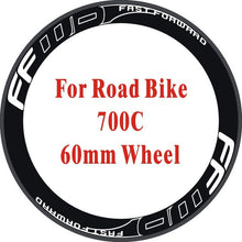 Load image into Gallery viewer, Outline FFWD 8Pics Wheel Rim Stickers Decals Road Bike Stickers Road Bike Wheel Rim Vinlys Decals