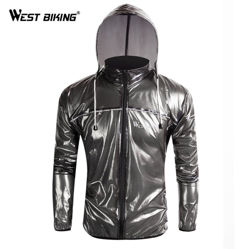 WEST BIKING Waterproof Windproof Cycling Wind Dust Jacket