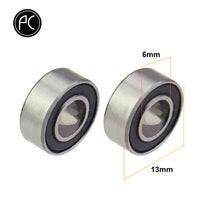 Load image into Gallery viewer, PCycling 2pcs Bicycle Pedal Bearing Stainless Steel Sealed Bearing