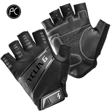 Load image into Gallery viewer, PCycling Cycling Gloves Half Finger Men Women Summer Sports Shockproof