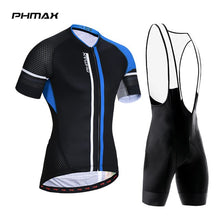 Load image into Gallery viewer, PHMAX 2019 Anti-UV Pro Summer Cycling Jersey Set Men MTB Bicycle Cycling