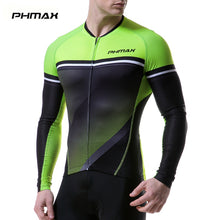 Load image into Gallery viewer, PHMAX 2019 Pro Cycling Jersey Long Sleeve MTB Bike Clothing Bicycle Clothes