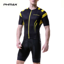 Load image into Gallery viewer, PHMAX 2019 Pro Summer Cycling Jerseys Set Mans Mountain Bicycle Clothing