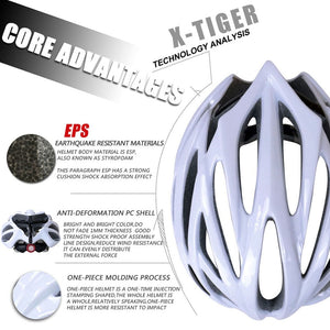 PHMAX - 21 Vents  Bicycle Helmet For Men Ultralight EPS+PC Cover