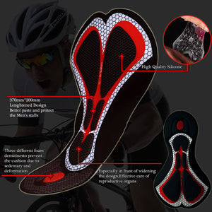 PHMAX Cycling Bibs Shorts Italy Silicon Grippers at Leg Mountain Bike