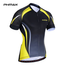 Load image into Gallery viewer, PHMAX Men's Cycling Jersey Pro Breathable Summer Short Sleeve Bicycle Clothing
