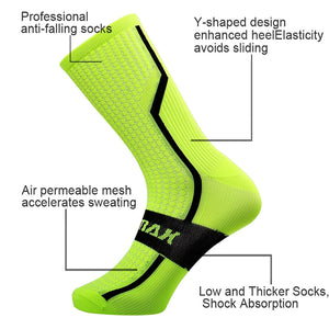 PHMAX PRO Women Unisex Cycling Socks 2019 New Professional Road MTB Bicycle Socks