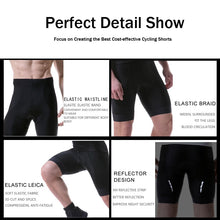 Load image into Gallery viewer, PHMAX Pro Cycling Shorts 5cm Italy Grippers at Leg Coolmax Cycling Shorts Shockproof MTB