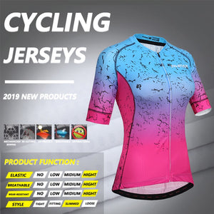 PHMAX Quick Dry Team jersey cycling Summer Short Sleeve MTB Bike  Cycling