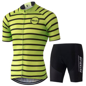 Phtxolue Cycling Clothing Cycling Sets Bike Clothing/Breathable  Jerseys sets