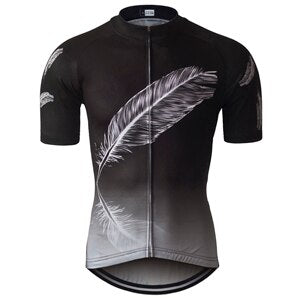 Phtxolue Mtb Bike Summer Cycling Jersey Men Shirt Wear Breathable