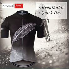 Load image into Gallery viewer, Phtxolue Mtb Bike Summer Cycling Jersey Men Shirt Wear Breathable