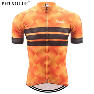 Phtxolue Summer Cycling Jersey Men/Bicycle Wear/Maillot Ciclismo/Mountain Bike