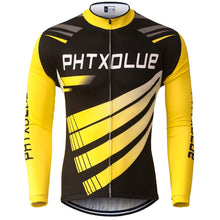 Load image into Gallery viewer, Phtxolue Thermal Fleece Cycling Jerseys Autumn Winter