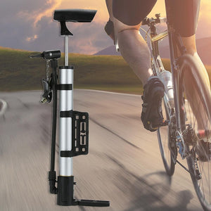 Portable Cycling Bicycle Air Pump and Ball Basketabll Type Soccer Bike Pump