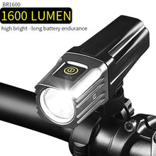 Load image into Gallery viewer, Professional 1600Lumens Bicycle Light 5000mAh Light Bike USB Rechargeable