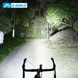 Professional 1600Lumens Bicycle Light 5000mAh Light Bike USB Rechargeable