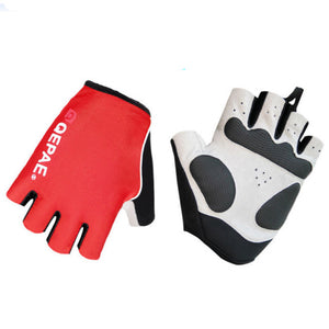 Qepae Unisex Bike Bicycle Gloves Sport Men Women Half Finger