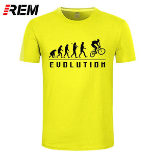 REM Evolution Of Biking t-shirt Lycra