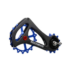 Load image into Gallery viewer, ROCKBROS 17T Bike Carbon Fiber Bicycle Rear Derailleur Pulley Wheel Kit