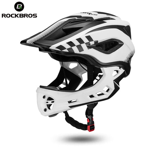 ROCKBROS 2 In 1 Bike Bicycle Cycling Helmets Full Covered Child  EPS