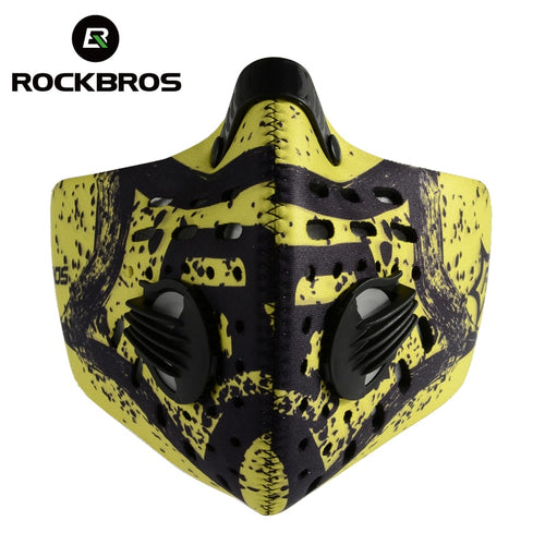 ROCKBROS Anti-dust Cycling Face Mask Cover Breathable Respirator