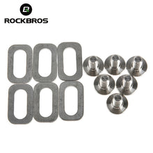 Load image into Gallery viewer, ROCKBROS Bicycle Accessories Titanium Ti Bolts Spacers