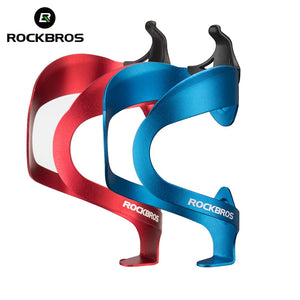 ROCKBROS Bicycle Aluminium Alloy Adjustable Water Bottle Cage