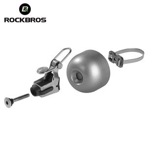 ROCKBROS Classical Stainless Bicycle Bell Cycling Horn Bike Handlebar Bell