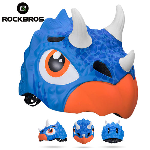 ROCKBROS Cycling Bicycle Helmet Child Cartoon Mtb Road Bike